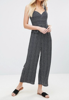 Y.A.S Stripe Jumpsuit